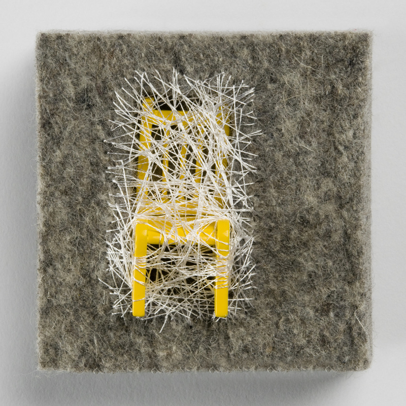 Speck (yellow playroom chair), Rebecca Reeves